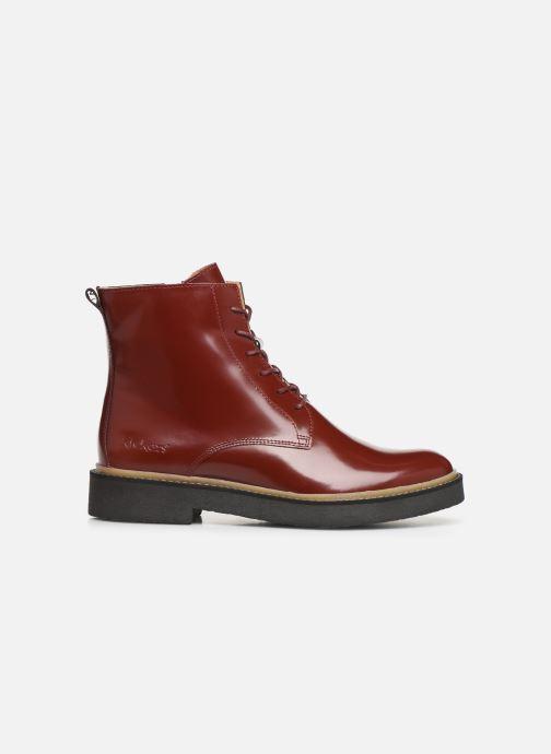 Bottines et boots Kickers OXIGENO Rouge vue derrière