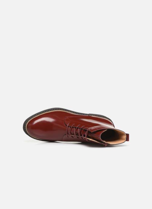 Stiefeletten & Boots Kickers OXIGENO rot ansicht von links