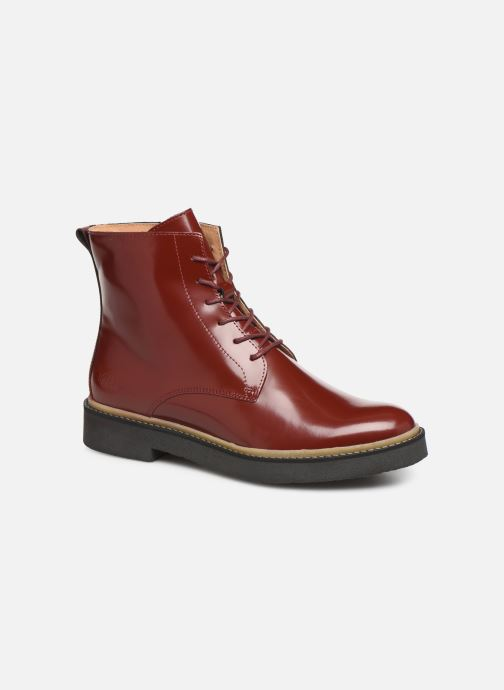 Bottines et boots Kickers OXIGENO Rouge vue détail/paire