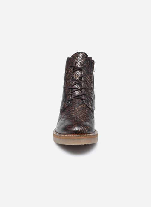 Bottines et boots Kickers OXIGENO Marron vue portées chaussures