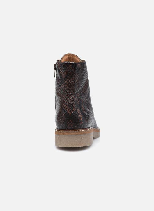Bottines et boots Kickers OXIGENO Marron vue droite