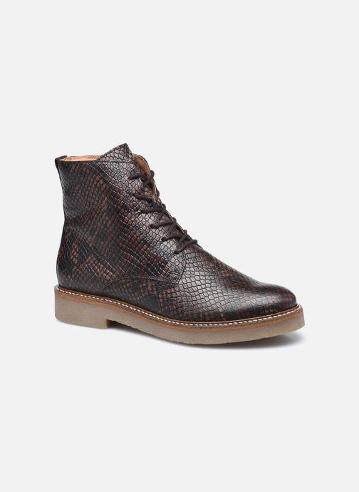 Bottines et boots Kickers OXIGENO Marron vue détail/paire
