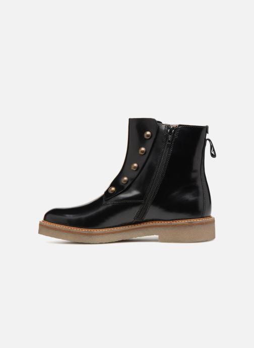 Bottines et boots Kickers OXCIRCLE Noir vue face