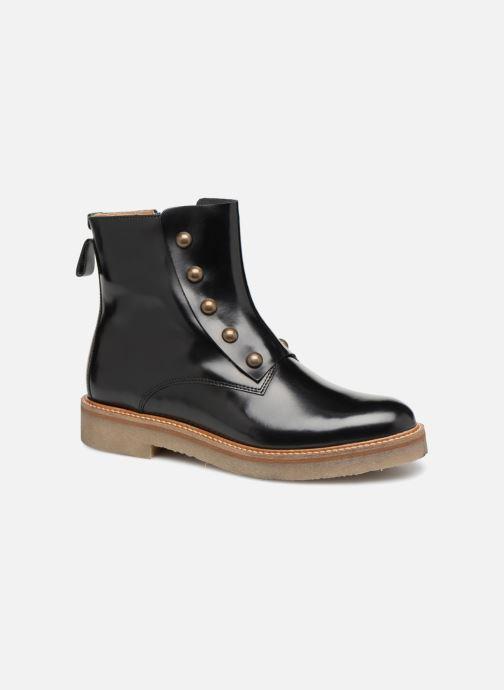 Bottines et boots Kickers OXCIRCLE Noir vue détail/paire