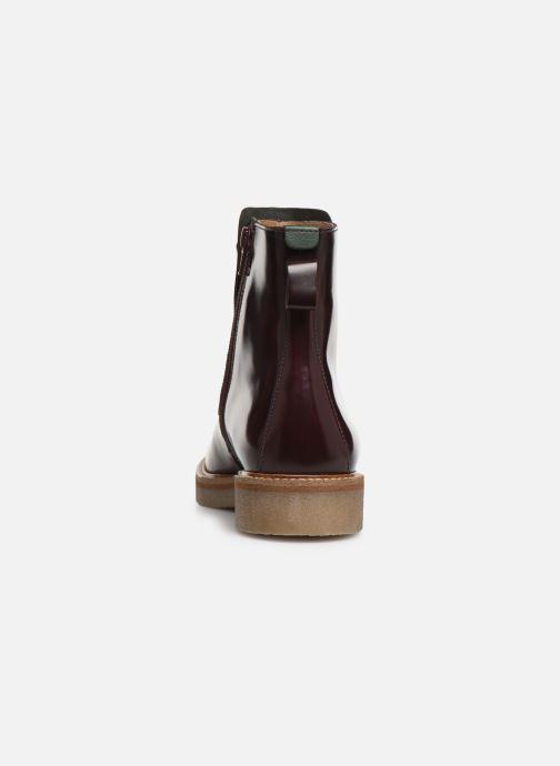 Boots en enkellaarsjes Kickers OXCIRCLE Bordeaux rechts