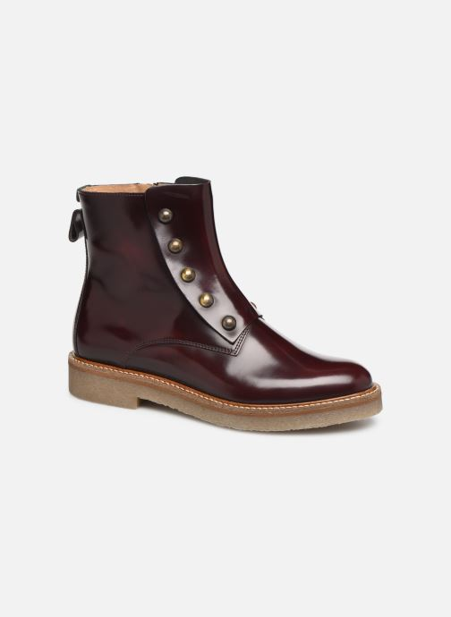 Bottines et boots Kickers OXCIRCLE Bordeaux vue détail/paire