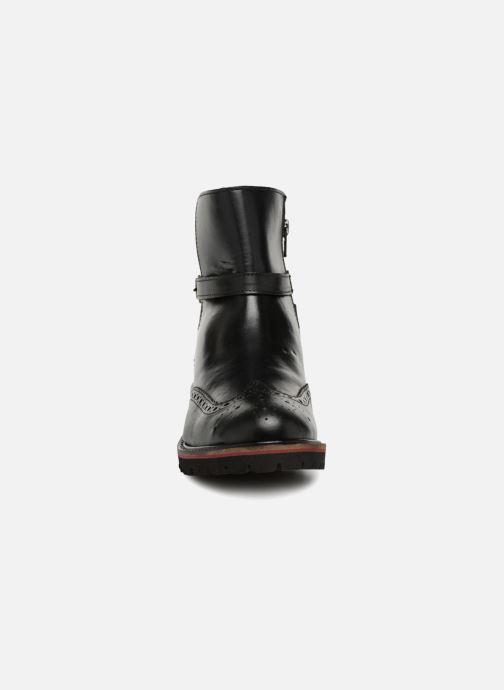 Stiefeletten & Boots Kickers RHUM schwarz schuhe getragen