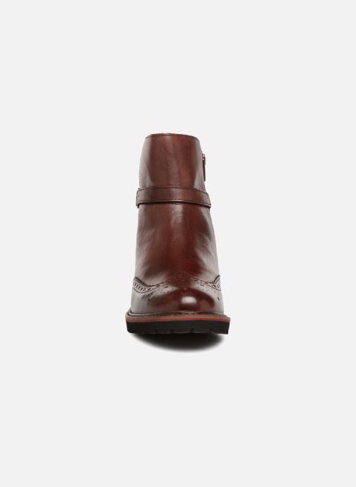 Bottines et boots Kickers RHUM Marron vue portées chaussures