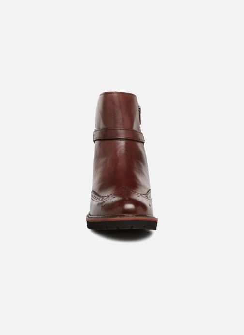 Stivaletti e tronchetti Kickers RHUM Marrone modello indossato