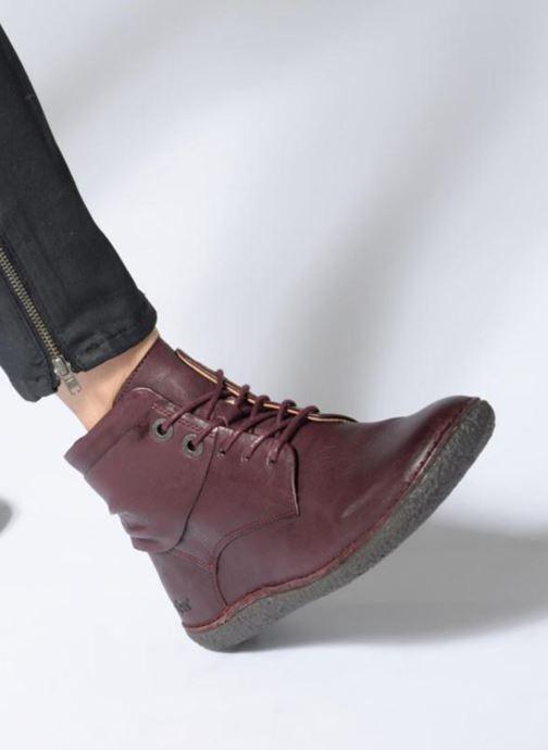 Bottines et boots Kickers HOBYLOW NEW Bordeaux vue bas / vue portée sac