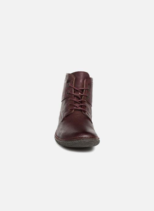 Bottines et boots Kickers HOBYLOW NEW Bordeaux vue portées chaussures