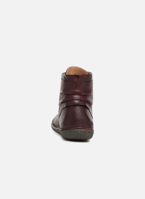 Bottines et boots Kickers HOBYLOW NEW Bordeaux vue droite