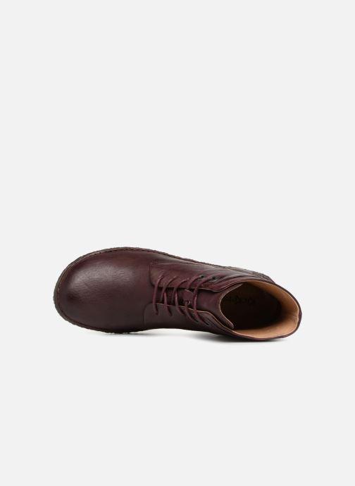 Bottines et boots Kickers HOBYLOW NEW Bordeaux vue gauche
