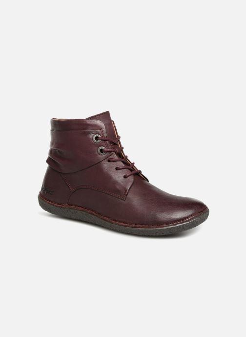Bottines et boots Kickers HOBYLOW NEW Bordeaux vue détail/paire