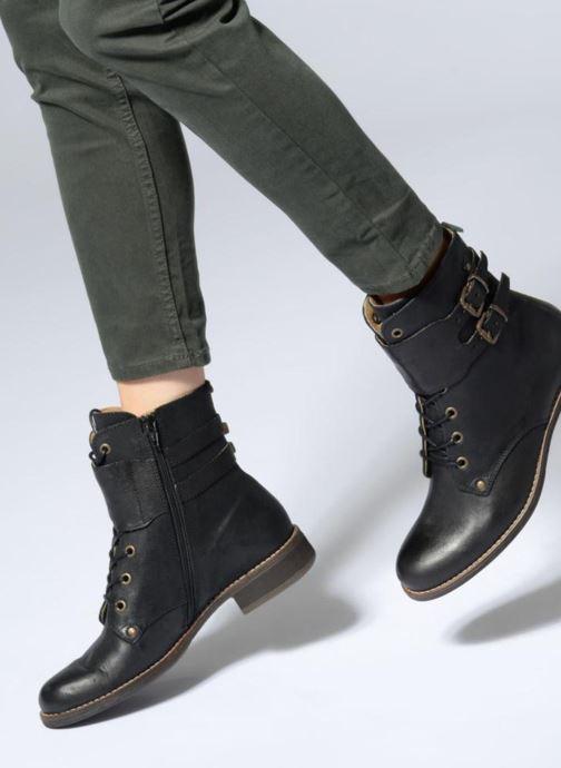 Kickers SMILE (Noir) Bottines et boots chez Sarenza (341228)