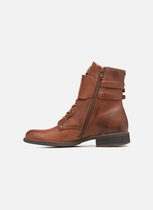 Kickers SMILE (Marron) Bottines et boots chez Sarenza (341229)