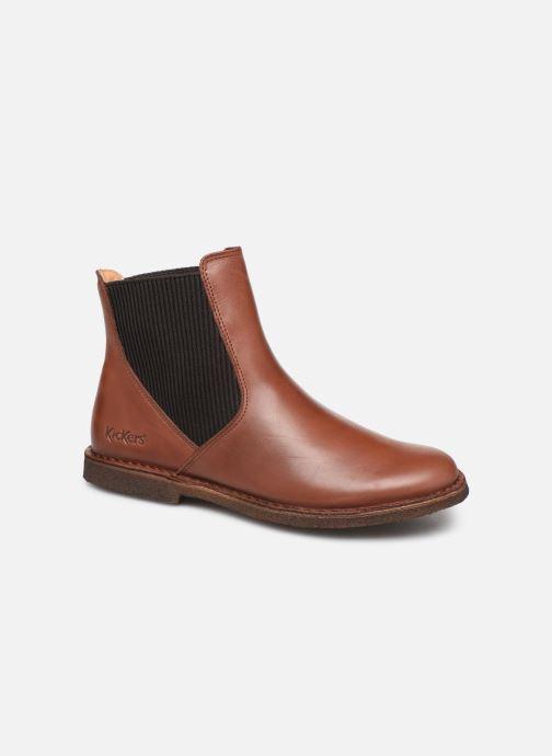 Stiefeletten & Boots Kickers TINTO braun detaillierte ansicht/modell