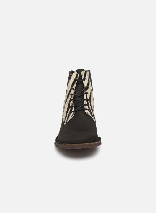 Bottines et boots Kickers TITI Multicolore vue portées chaussures