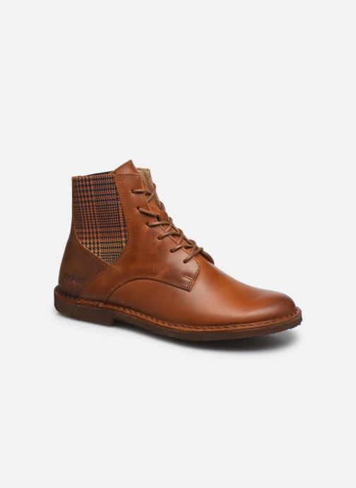 Bottines et boots Kickers TITI Marron vue détail/paire