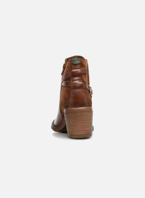 Bottines et boots Kickers PIONIER Marron vue droite