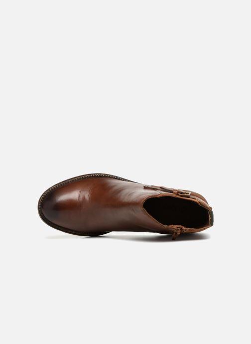 Bottines et boots Kickers PIONIER Marron vue gauche