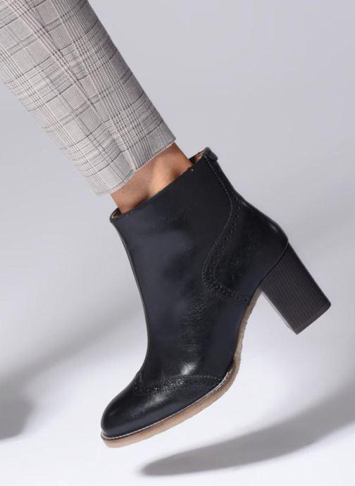 Bottines et boots Kickers MISTY Noir vue bas / vue portée sac