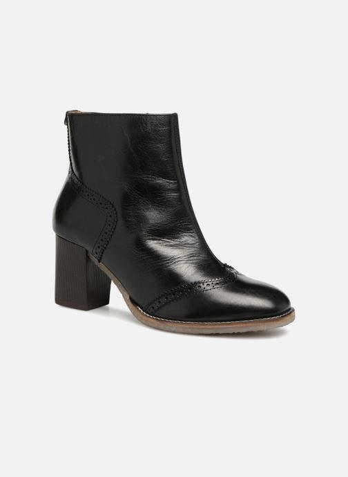 Bottines et boots Kickers MISTY Noir vue détail/paire