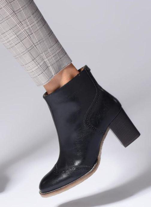 Bottines et boots Kickers MISTY Marron vue bas / vue portée sac