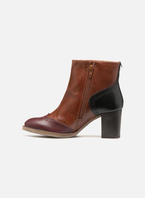 Bottines et boots Kickers MISTY Marron vue face