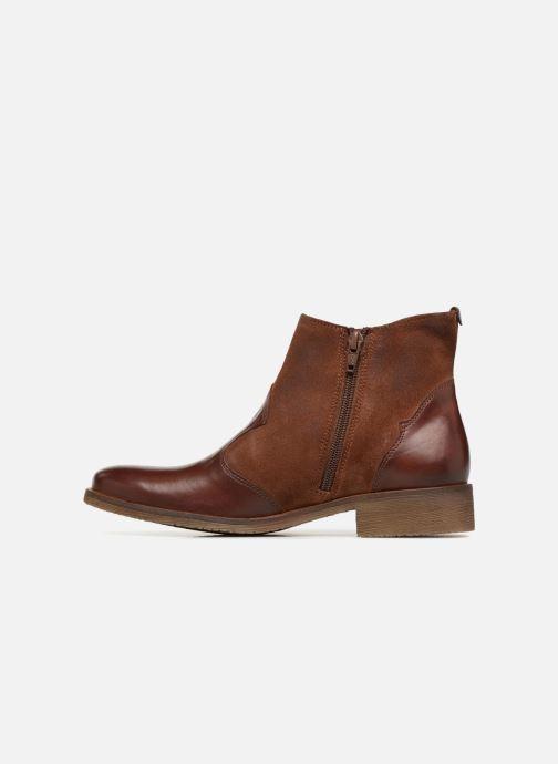 Stiefeletten & Boots Kickers LIXY braun ansicht von vorne
