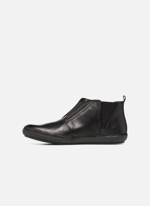 Bottines et boots Kickers FONZINE Noir vue face