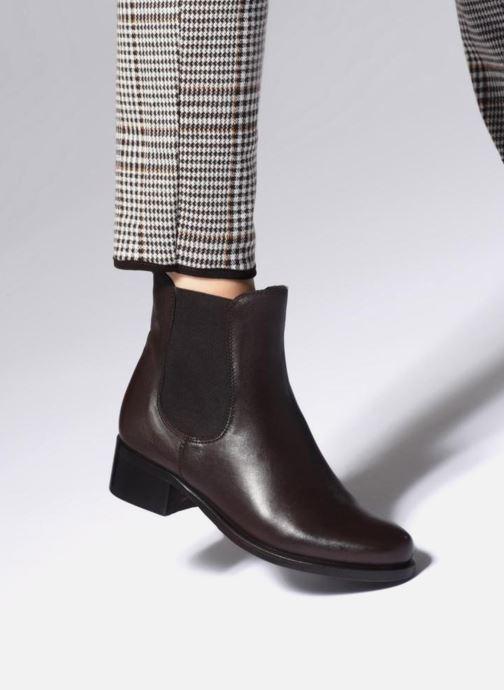 Bottines et boots Kickers PEARLIE Noir vue bas / vue portée sac