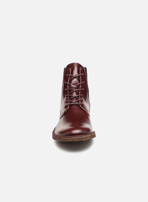 Stiefeletten & Boots Kickers TANGO weinrot schuhe getragen