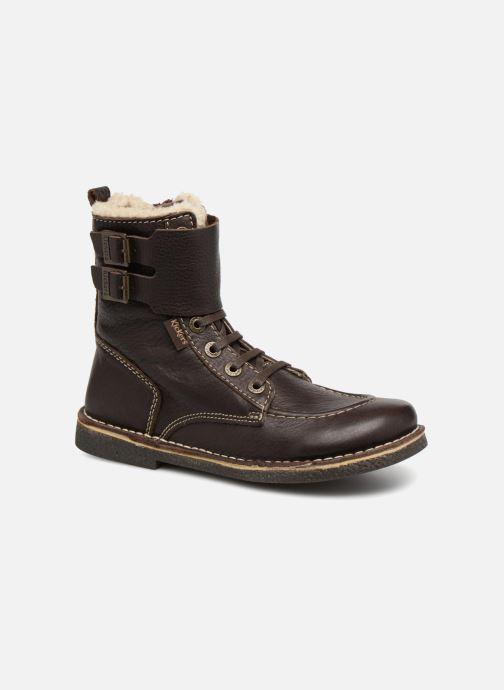 dd2cef87ba8 Kickers MEENELY (Marron) - Bottines et boots chez Sarenza (341249)