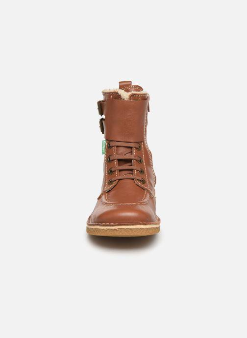 Boots en enkellaarsjes Kickers MEENELY Bruin model