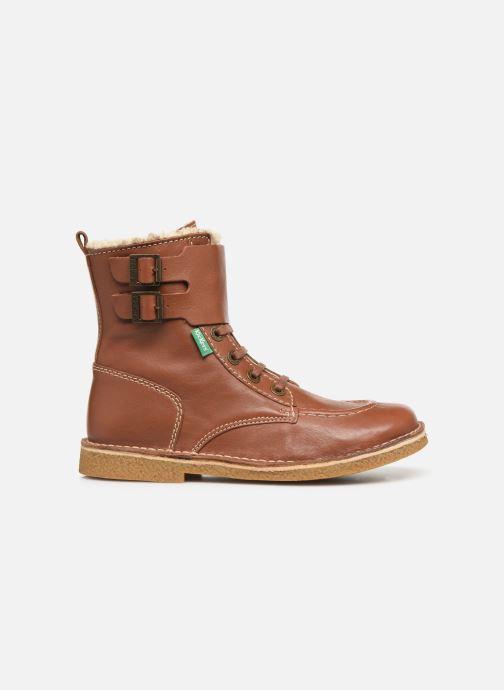 Boots en enkellaarsjes Kickers MEENELY Bruin achterkant