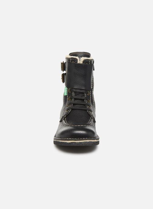 Boots en enkellaarsjes Kickers MEENELY Zwart model