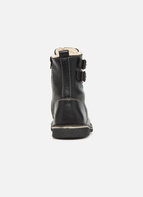 Boots en enkellaarsjes Kickers MEENELY Zwart rechts