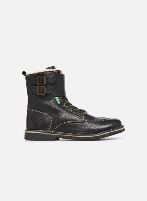 Boots en enkellaarsjes Kickers MEENELY Zwart achterkant