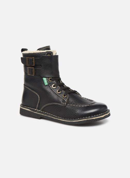 Boots en enkellaarsjes Kickers MEENELY Zwart detail