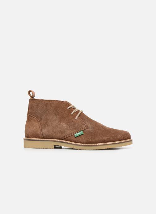Boots en enkellaarsjes Kickers TYL F Bruin achterkant