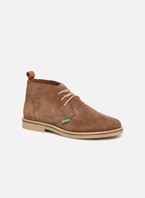 Bottines et boots Kickers TYL F Marron vue détail/paire