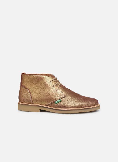 Boots en enkellaarsjes Kickers TYL F Goud en brons achterkant