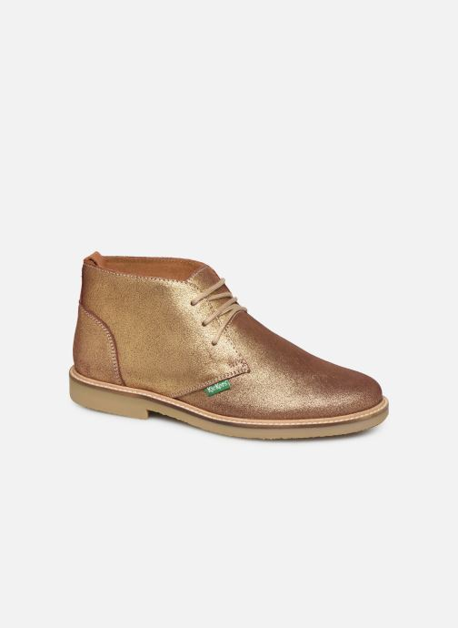 Bottines et boots Kickers TYL F Or et bronze vue détail/paire