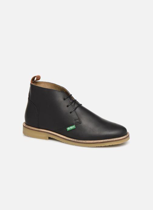 Ankelstøvler Kickers TYL F Sort detaljeret billede af skoene