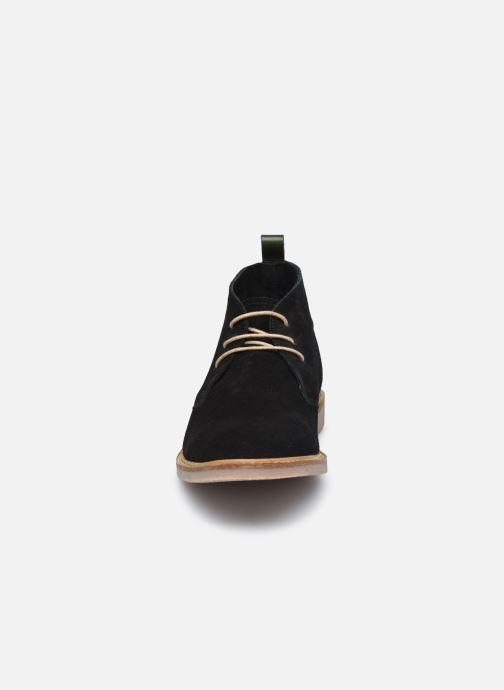 Bottines et boots Kickers TYL F Noir vue portées chaussures