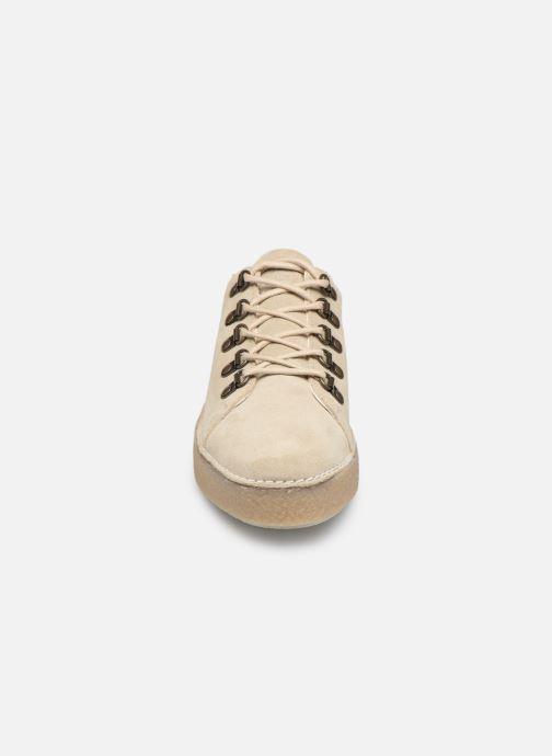 Chaussures à lacets Kickers SPRITE Beige vue portées chaussures