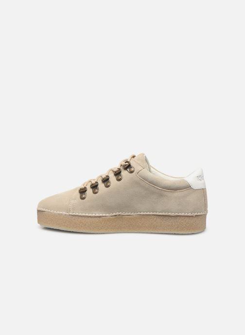Chaussures à lacets Kickers SPRITE Beige vue face