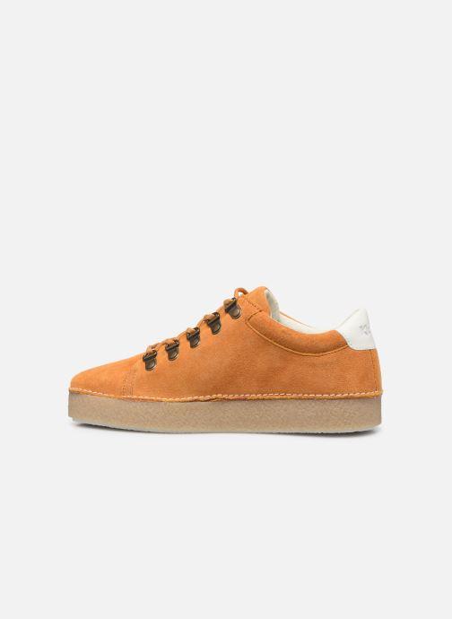 Zapatos con cordones Kickers SPRITE Amarillo vista de frente