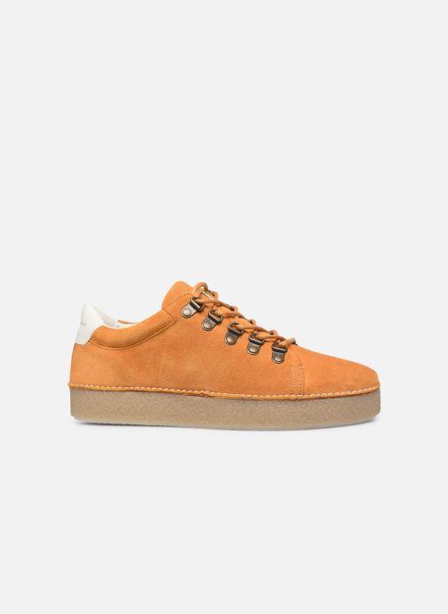 Zapatos con cordones Kickers SPRITE Amarillo vistra trasera